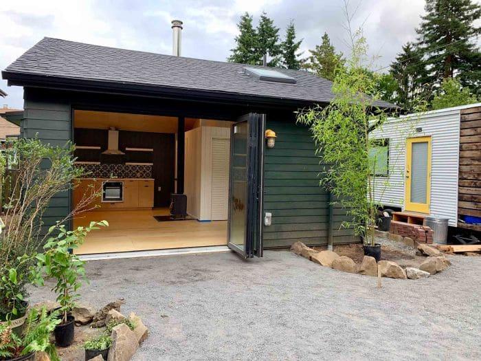 garage to an adu